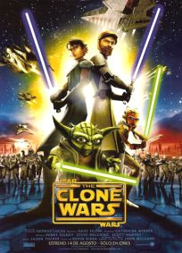 """Argentinean The Clone Wars Version """"A"""" One-Sheet"""