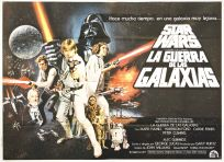 "Argentinean Star Wars Style ""C"" Two-Sheet"