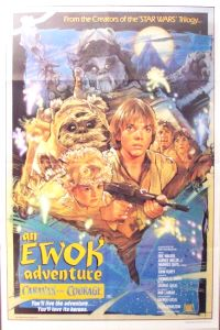 "Australian Ewok Adventure Style ""B"" Caravan of Courage One-Sheet"
