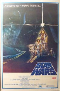 "Australian Star Wars Style ""A"" 2nd Variation One-Sheet"