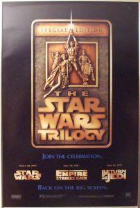 """Australian Star Wars Special Edition Version """"A"""" Advance One-Sheet"""