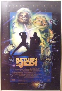 "Australian Return of the Jedi Special Edition Version ""D"" One-Sheet"