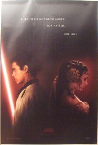"""Australian Attack of the Clones Version """"A"""" Advance One-Sheet"""