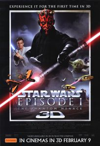 "Australian The Phantom Menace Version ""A"" 3-D One-Sheet"