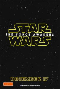 "Australian The Force Awakens Version ""A"" Advance One-Sheet"