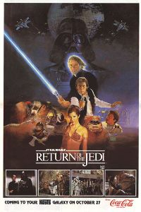 "Australian Return of the Jedi Style ""B"" Hoyts Handbill"