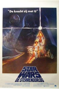 "Belgian Star Wars Style ""A"" Flemish One-Sheet"