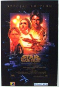 "Belgian Star Wars Special Edition Version ""B"" One-Sheet"