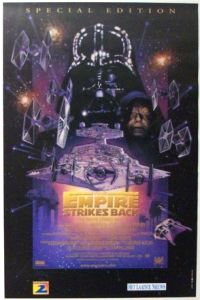 "Belgian Empire Strikes Back Special Edition Version ""C"" One-Sheet"