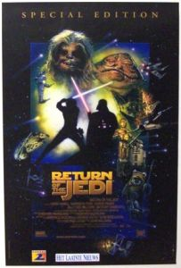 "Belgian Return of the Jedi Special Edition Version ""D"" One-Sheet"