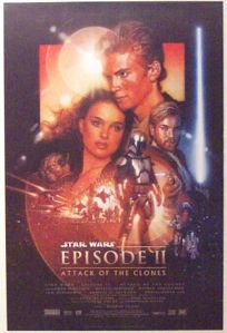 "Belgian Attack of the Clones Version ""B"" One-Sheet"
