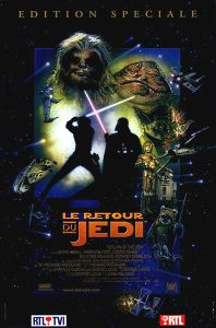 "Belgian Return of the Jedi Special Edition Version ""D"" French One-Sheet"