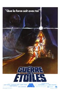 "Belgian Star Wars Style ""A"" French One-Sheet"