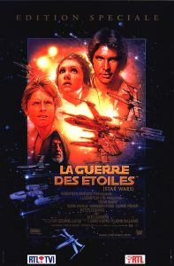 "Belgian Star Wars Special Edition Version ""B"" French One-Sheet"