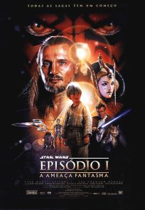 "Brazilian The Phantom Menace Version ""B"" One-Sheet"