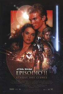 "Brazilian Attack of the Clones Version ""B"" One-Sheet"
