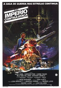 "Brazilian Empire Strikes Back Style ""A"" Foreign (One-Sheet)"