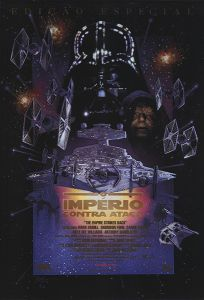"""Brazilian Empire Strikes Back Special Edition Version """"C"""" One-Sheet"""