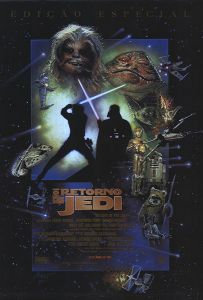 "Brazilian Return of the Jedi Special Edition Version ""D"" One-Sheet"