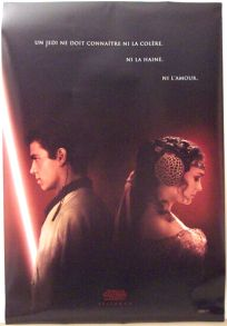 """Canadian Attack of the Clones Version """"A"""" Advance One-Sheet"""
