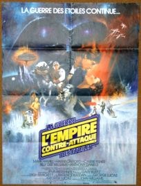 "Canadian Empire Strikes Back Style ""A"" French Moyenne-Affiche"