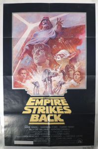 Canadian Empire Strikes Back '81 Re-release One-Sheet