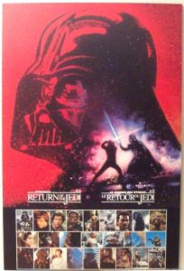 Canadian Return of the Jedi General Mills Revenge Promo Poster