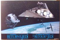 Canadian Return of the Jedi General Mills Destroyer Promo Poster