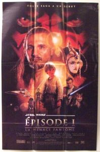"Canadian The Phantom Menace Version ""B"" Petite-Affiche"