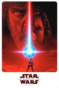 "Canadian The Last Jedi Version ""A"" Advance 2nd Version One-Sheet"