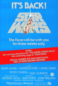 Canadian Star Wars '79 Re-release One-Sheet