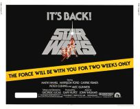 Canadian Star Wars '81 Re-release Half-Sheet