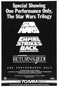 "Canadian Star Wars ""Uptown Theatre"" Triple Bill One-Sheet"