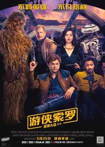 "Chinese Solo Version ""A"" Foreign One-Sheet"
