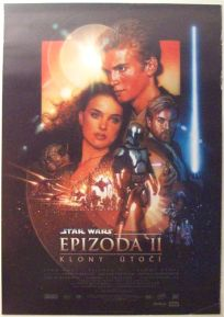 "Czech Republic Attack of the Clones Version ""B"" One-Sheet / A1 Size"