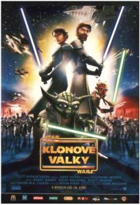 "Czech Republic The Clone Wars Version ""A"" Handbill / A3 Size"