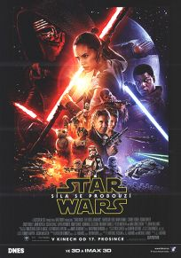 "Czech Republic The Force Awakens Version ""B"" DNES One-Sheet / A1 Size"