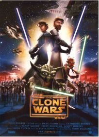"Danish The Clone Wars Version ""A"" One-Sheet"