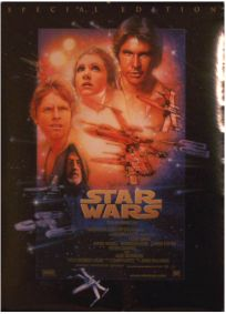 "Danish Star Wars Special Edition Version ""B"" One-Sheet"