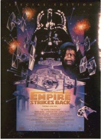 """Danish Empire Strikes Back Special Edition Version """"C"""" One-Sheet"""
