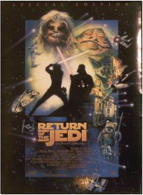 "Danish Return of the Jedi Special Edition Version ""D"" One-Sheet"