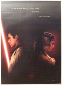 "Danish Attack of the Clones Version ""A"" Advance One-Sheet"