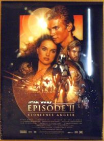 "Danish Attack of the Clones Version ""B"" One-Sheet"