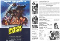 "Danish Empire Strikes Back Style ""B"" Handbill / A4 Size"