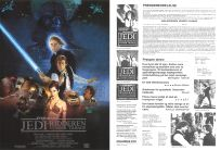 "Danish Return of the Jedi Style ""B"" Handbill / A4 Size"
