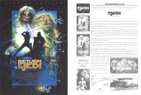 "Danish Return of the Jedi Special Edition Version ""D"" Handbill / A4 Size"