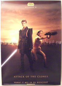 "Dutch Attack of the Clones Version ""Good Guys"" One-Sheet / A0 Size"