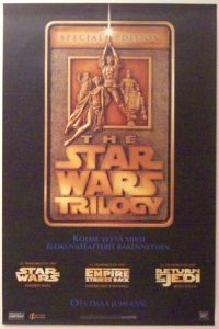 "Finnish Star Wars Special Edition Version ""A"" Advance One-Sheet / A2 Size"
