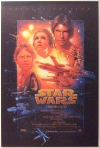 "Finnish Star Wars Special Edition Version ""B"" One-Sheet / A2 Size"