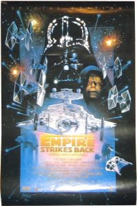 "Finnish Empire Strikes Back Special Edition Version ""C"" One-Sheet / A2 Size"